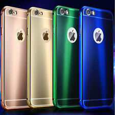 Aluminum Ultra-thin Metal Case Bumper Cover Skin for Apple iPhone 6 Plus 5.5''