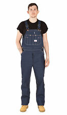 Roundhouse Classic Blues Dungarees Lot966 Mens Denim Blue Overalls