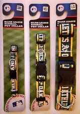 Oakland Athletics Officially Licensed MLB Dog Collar - 3 Sizes (S, M, L)