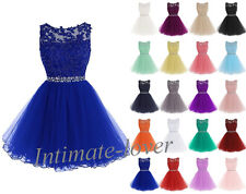 New Style Short Formal Homecoming Party Prom Cocktail Evening Bridesmaid Dresses
