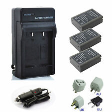 Fully Decoded Olympus BLN-1 Battery / Charger For BCN1 OM-D E-M1 E-M5 PEN E-P5