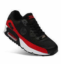 Paperplanes Max Sports Air Running Athletic Shoes_PP1101(BlackGrayRed)