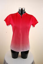 Ziener Ladies Bike Cycling Jersey Sublimation Shirt Careen 30 Red Size 38 New