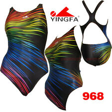 NWT YINGFA 968 TRAINING RACING COMPETITION SWIMSUIT US MISS 2,4,6,8,10,12 ALL Sz