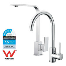 Brass Pull Out Shower Kitchen Basin Mixer tap Sink Laundry Faucet WATERMARK WELS