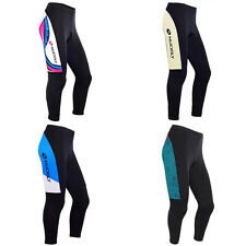 Womens Sports Clothes Cycling Jersey Bicycle Tight Design Long Pants 4 Color