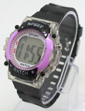 Digital Sports Wristwatch Girls lady LED watch Day Date Alarm Battery colors