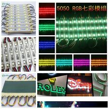 1-104FT 5050SMD 3LED Module STORE FRONT Window  lights SIGN Strip String Lamp