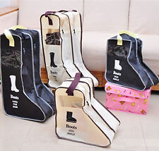 Useful Travel Boots Storage Bag Dustproof Case for Shoes Holder Organizer Zipped