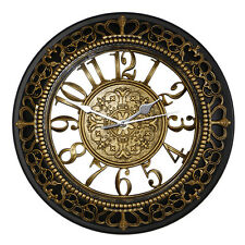 Crown Wall Clock European Creative Retro Watch Home Decor  Clocks 12""