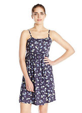 NEW LADIES FLORAL RAYON SKATER EVENING SUMMER BEACH CAMI STRAP WOMENS DRESS