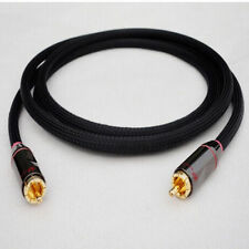 Z84 Hi-End Canare Subwoofer 75Ω Coax RCA/Phono (m/m) Audio Cable 4ft-33ft