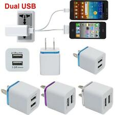 Portable AC 5V Dual Port USB Wall Charger Home Travel Fast Charger US  Plug Hot
