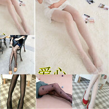 Jacquard Stockings Pattern Sexy Pantyhose Tights Fashion NEW Fishnet Black