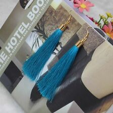 Stud Earrings Fringe Vintage Long Tassel Dangle Various Colors Earrings Hot