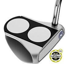 ODYSSEY WHITE HOT RX 2BALL V-LINE PUTTER W/ FLATSO SUPER STROKE GRIP - NEW 2016