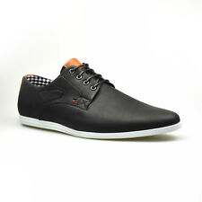 Mens New Casual Black Leather Smart Formal Lace Up Shoes UK SIZE 7 8 9 10 11