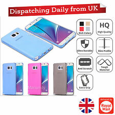 Clear Ultra Slim Thin Soft TPU Silicone Gel Case Cover For Samsung Galaxy Phones