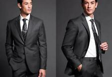 2016 Black Groom Wear Wool Suit The Groom Dresses For Men Wedding Men's Suits