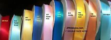 """1"""" DOUBLE FACE SATIN RIBBONS- CHOOSE FROM 42 COLOR"""