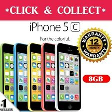 Apple iPhone 5c 8GB 4G Smartphone 5-Colors 4G LTE GSM 100% Unlocked Mobile Phone