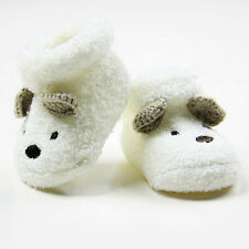 Baby Boys Girls Toddler Infant Cute Bear Soft Sole Crib Shoes Socks Warm Boots