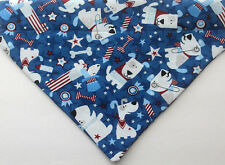Patriotic dog bandana over the collar Scarf - Bandana