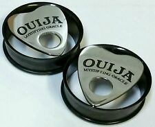 Mystifying Oracle / Ouija Planchette Plugs (Available in Sizes 10-30 mm)