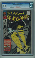 AMAZING SPIDER-MAN #30 CGC 8.0 HIGH GRADE DITKO ART OW PAGES SILVER AGE