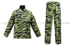 BDU Military Uniform Asian Tiger Camo Jacket & Pants Uniform 01713