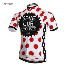 XINTOWN Mens Cycling Clothing Ropa Ciclismo Bike Bicycle Short Sleeve Jersey Top