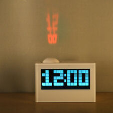 Multifunctional Rotatable Digital Projection Clock LCD Alarm Clock Date Time