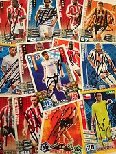 MATCH ATTAX SIGNED EXTRA,WORLD CUP AND SHOOT OUT CARDS CHOOSE FROM LIST