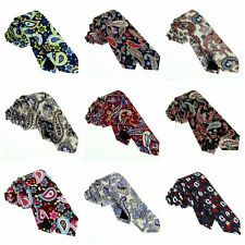 New Neck Tie Cotton Floral Mens Ties Groom Wedding Party Handmade Necktie ZBJH