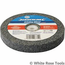 "Silverline 150 x 20mm Heavy Duty Grinding Wheel Coarse Fine 1"" Bore Power Tool"