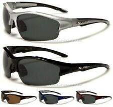 NEW BLACK POLARIZED SUNGLASSES FISHING MENS LADIES SOPRTS DRIVING LARGE WRAP BIG
