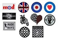 MOD mods TARGET ska NORTHERN SOUL the specials - OFFICIAL SEW ON PATCH