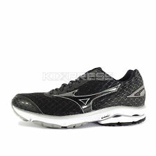 Mizuno Wave Rider 19 W [J1GD160309] Running Black/Silver-White