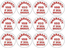 Tamper Proof 12mm Round Labels Seals - 600 for £11.99 inc. FREE First Class Post