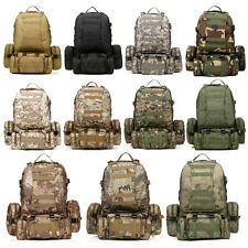 50L Outdoor Molle Assault Tactical Military Rucksacks Backpack Camping Bag Large