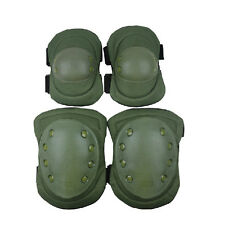 New Adjustable Tactical Protective Knee & Elbow Pads Outdoor Sport MilItary Pad
