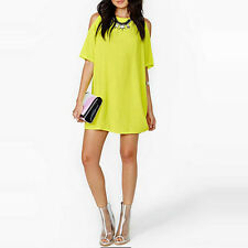 Fashion Women's Sexy Summer Casual Party Slim Evening Dress Off Shoulder Dress