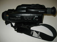 Sony Handycam CCD-FX410 Video 8 Camcorder - Black
