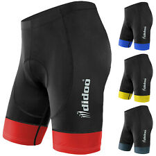 Didoo New Men's Cycling Shorts Bicycle Leggings Padded Pants Top Qualität Lycra
