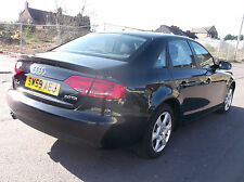 2009 59 REG AUDI A4 2.0 TDI TURBO DIESEL NEW SHAPE CAT-D DAMAGED SALVAGE