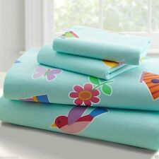 Olive Kids Girls Birdie Cotton Bedroom Sheet Set TWIN or FULL SIZE