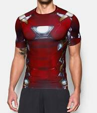 Under Armour Mens UA Alter Ego Iron Man Compression Shirt - Mens M, L, XL, XXL