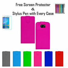 New Leather Pu Flip Wallet Soft Tpu Gel Case Covers Card Holder For HTC One M10