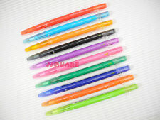 1x Pilot FriXion Ball Slim 0.38mm Erasable Rollerball Gel Pen,10 Color Available