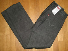 Mens Levi's 511 Skinny Jeans Extra Slim Fit Below Waist Rigid Black Label New